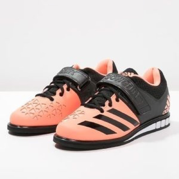 adidas Shoes - Coral Adidas Powerlifting shoes 29de71cc1
